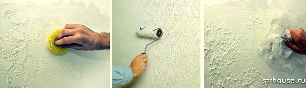 Штукатурка стен своими руками в картинках