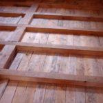 Как и чем утеплить деревянный пол в доме