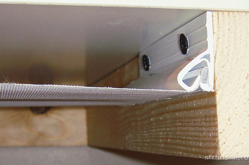 Багет для тканевого натяжного потолка
