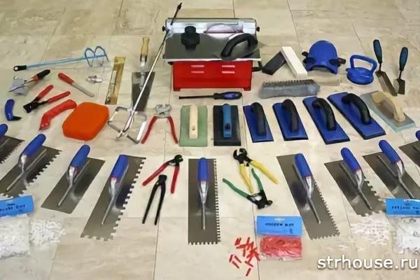 Инструмент для укладки плитки