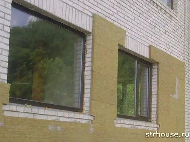 Минеральная вата для утепления кирпичного дома