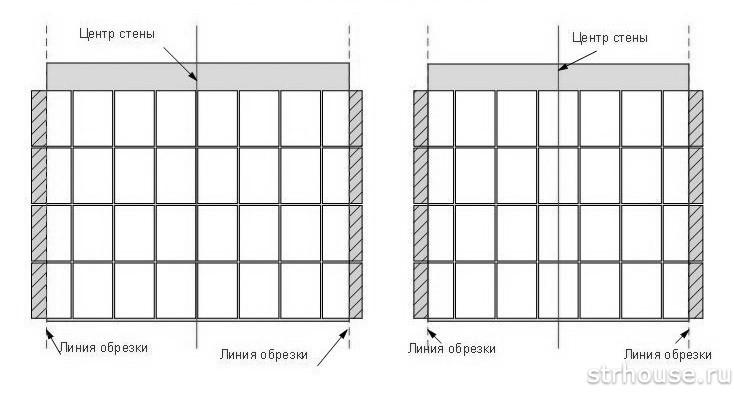 Примеры раскладок плитки