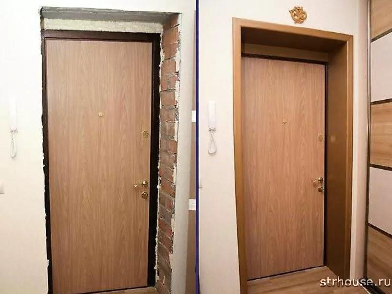Дверные проемы входных дверей