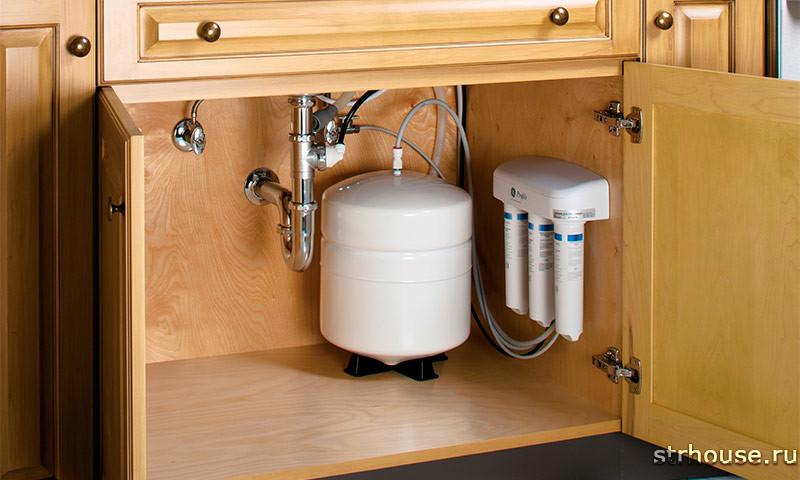 Фильтр для воды под раковиной