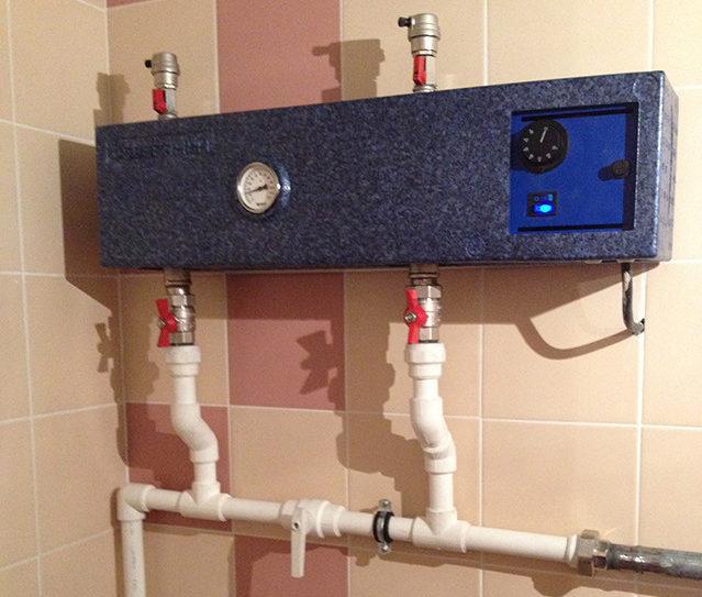Резервный электрический котел в системе отопления