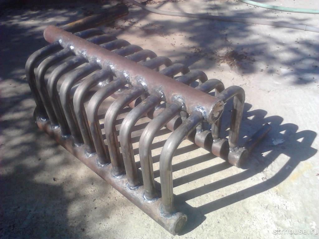 Теплообменник из стальной трубы