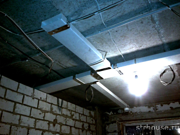Вентиляция в доме из газобетона