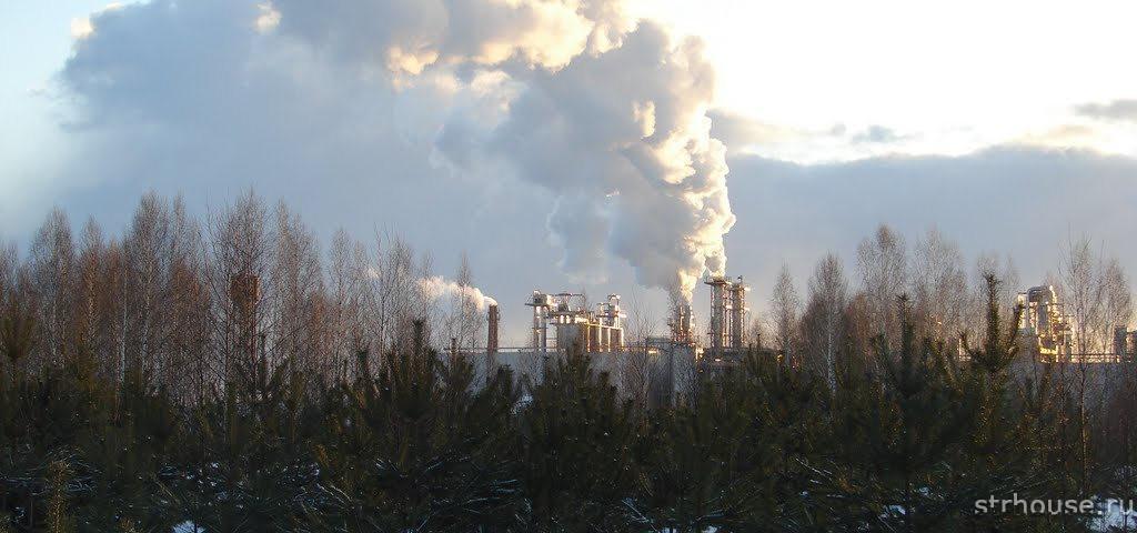Загрязненный район