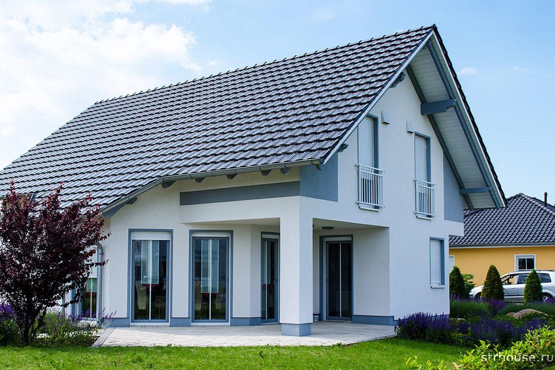 Двускатная крыша своими руками - возведение двускатной крыши фото