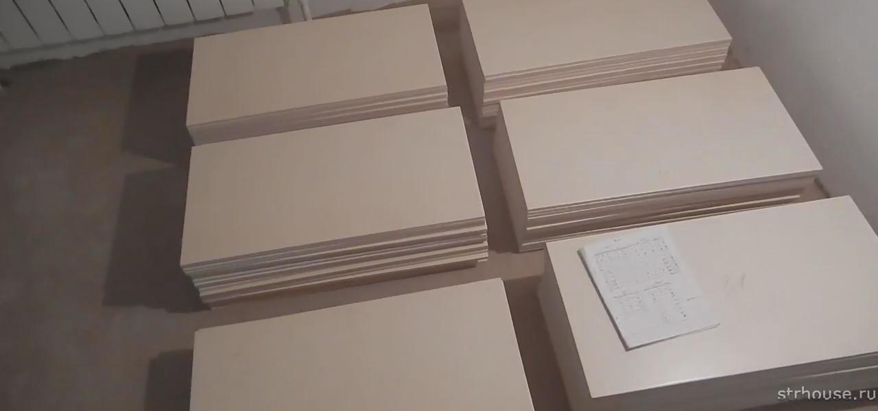 Сортировка плитки