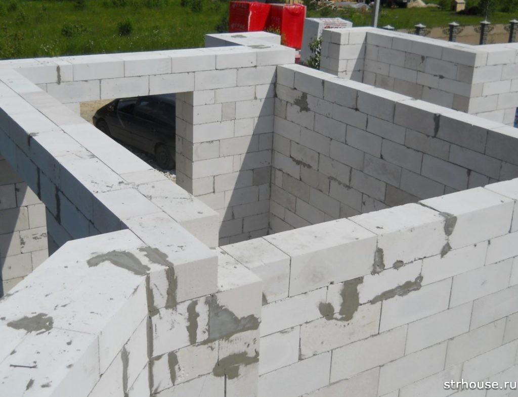 Несущая стена из керамзитобетона бетон адамант богородск