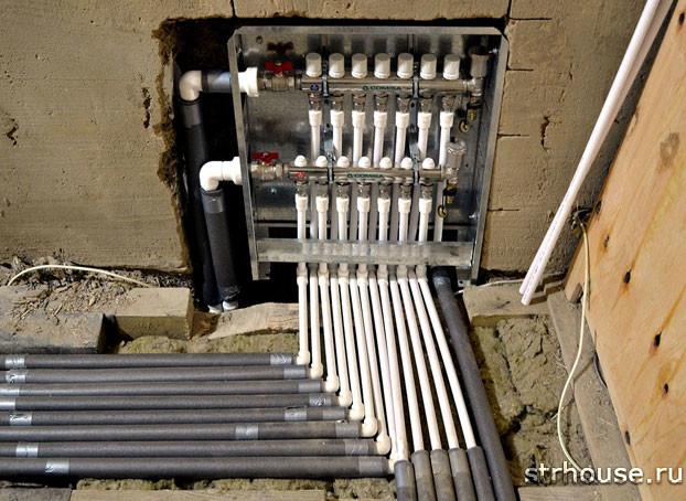Коллектор для отопления: принцип работы, правила установки и подключения. Что такое распределитель тепла: преимущества, особенности работы и монтаж